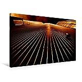 Calvendo Premium Textil-Leinwand 90 cm x 60 cm Quer, Maintower in Frankfurt am Main | Wandbild, Bild auf Keilrahmen, Fertigbild auf Echter Leinwand, Leinwanddruck Orte Orte
