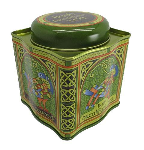 Irischer Frühstückstee – keltischer Pfau, Design-Dose