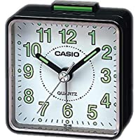 Casio TQ-140-1BDF Beep Alarm Clock, Black