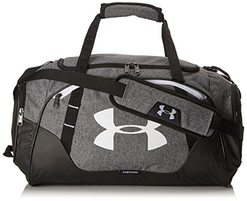 9648c5c526 Under Armour Undeniable 3.0 Sm Unisex Sport Duffel, Graphite / Black /  White (041