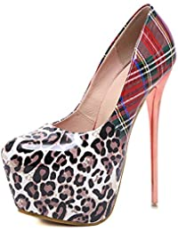 esSe Zapatos Para Tacón Amazon De MujerY 0v8nymNwOP