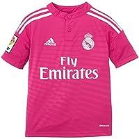 adidas Camiseta Junior 2ª Equipación Real Madrid Cf 2014-2015, color rosa, talla 152 cm