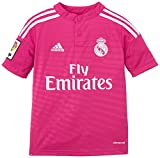 adidas Kinder Trikot Real Madrid Auswärtstrikot 2014/2015, Blast Pink/White, 140, M37318