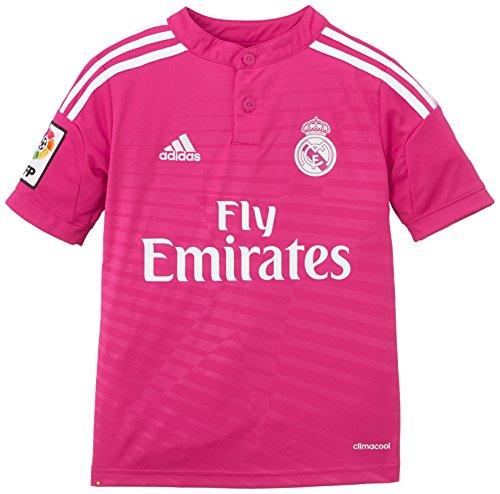 adidas - Camiseta Junior 2ª Equipación Real Madrid CF 2014-2015, Color Rosa, Talla 176 cm