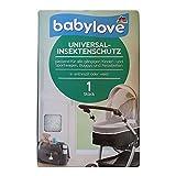 babylove Universal Insektenschutz, Kinder, Sportwagen, Buggys, Reisebetten, weiß (1 St Pack)