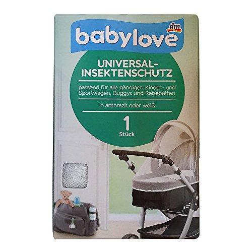 Preisvergleich Produktbild babylove Universal Insektenschutz,  Kinder,  Sportwagen,  Buggys,  Reisebetten,  weiß (1 St Pack)