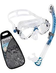 Cressi Premium Masque Tuba Adulte Plongée Snorkeling - Kits de Randonnée Aquatique