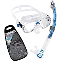 Cressi Marea Combo Snorkeling/Diving Set - Available with Snorkel Alpha Ultra Dry, Gamma o Mexico