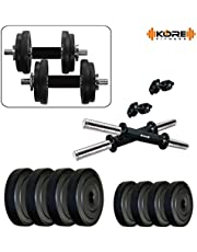 Kore K-PVC 20kg Combo 16 Leather Home Gym and Fitness Kit