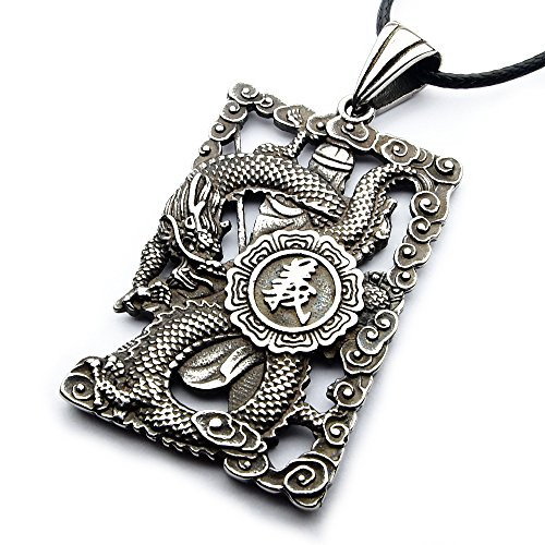 Miss–E–JEWELS Vintage Plata Acero Inoxidable Hombres Mujer