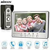KKMOON Video Doorbell Phone 7 Inch Wired Video Door Phone System Visual Intercom
