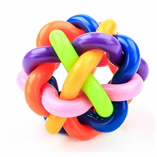 GOOTRADES 2 Stk Kinder Haustier Puppy Hunde Gummiseile Kauspielzeug Spielzeug Ball Geflochtene Knochen Knoten -