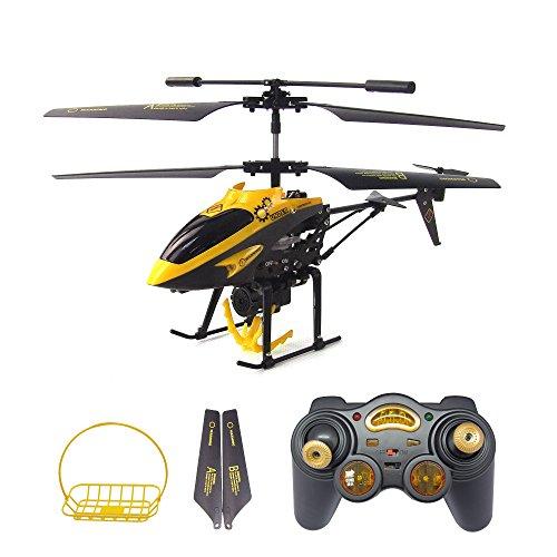 Gizmovine Wltoys V388 RC Elicottero Telecomandato Giroscopio Integratoh Helicopter RC Elicottero Gancio e cesto