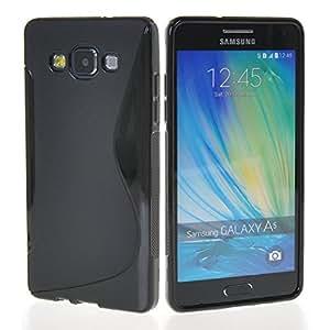 Samsung A5 Magic Brand S-Line Black Soft Silicon Back Cover Case