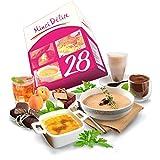 Régimen Adelgazante Hiperproteico vegetarianos Paquete 28 días 66 productos 1...