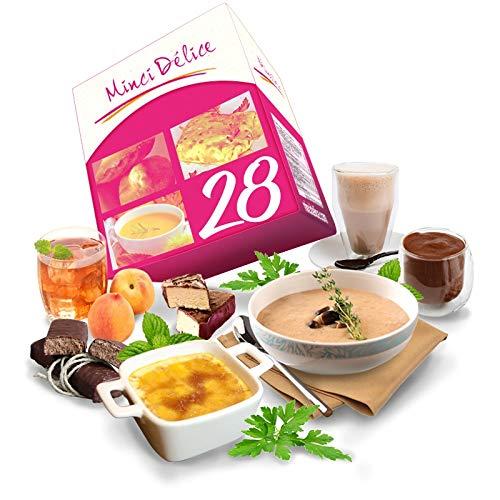 Régimen Adelgazante Hiperproteico vegetarianos Paquete 28 días 66 productos 1 coctelera y 1 guía de regalo - pérdida de peso optimizada en 4 semanas