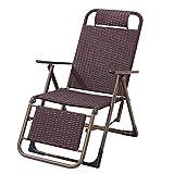 Stuhlhe Liegen Liegestühle Liegestuhl Rückenlehne Bürobalkon Mittagspause 3 Modelle (Farbe : C)