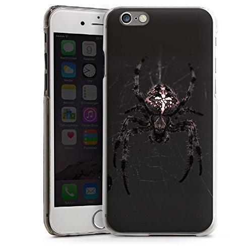 Apple iPhone 6 Housse Étui Silicone Coque Protection Araneus Araignée Araignée CasDur transparent