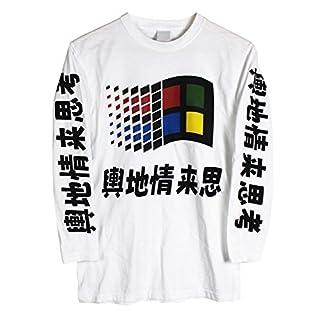 Windows Japanese Long Sleeve T-shirt (Medium)
