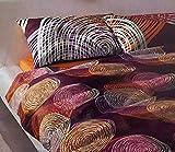 Bassetti Brio Impression Einzelbett aus 100% Baumwolle (Sacco 155 x 200 + 1 Spannbetttuch 90 x 200 + 1 Kissenbezug 50 x 80) in