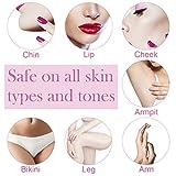 purebox Facial Hair Removal Epilator Painless Electric Upper Lip Hair Remover, Shaver Trimmer Razor on Chin Cheek Armpit Bikini Area for Women