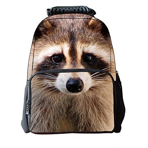 koson-man-3d-tier-niedliche-kinder-rucksack-laptop-cute-khaki-kmukb37