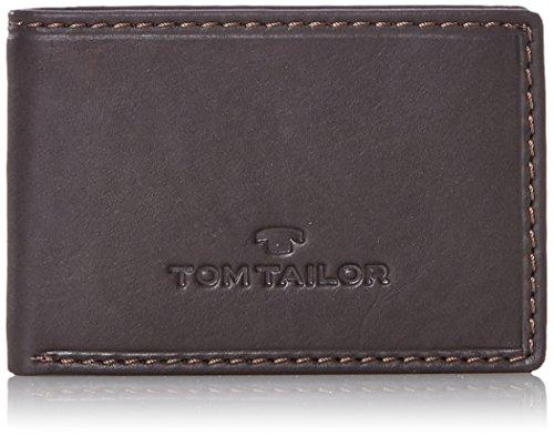 TOM TAILOR für Männer Taschen & Geldbörsen Portemonnaie aus Leder braun/Brown, OneSize -