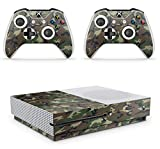 Gizmoz n Gadgetz Xbox One S Camouflage Console Skin Decal Sticker + 2 Controller Skins