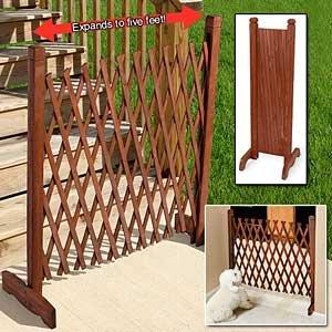 extensible Clôture en bois