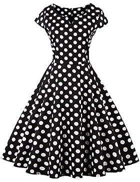 Botomi Women 's Vintage elegante vestido coctel de fiesta fiesta de picnic swing