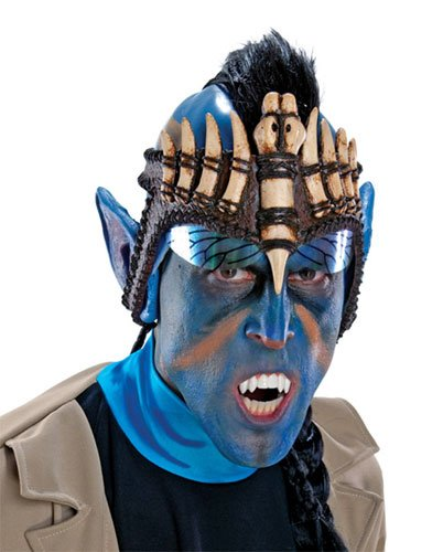James Cameron's Avatar Jake Sully Gebiss (Na'vi Halloween Kostüm)