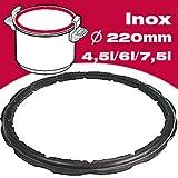 Seb SEB2350 Auto Cuiseur Joint Joint pour Autocuiseur Seb Clipso Inox 4,5/6 L