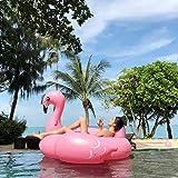 Bouée Inflatable Flamingo, PVC Gonflable Flamingo Flotteur de Piscine Géante pour...