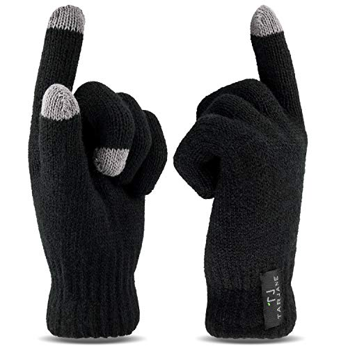 Thermo Handschuhe mit Touchscreen Funktion Screen Gloves extra warm TOG 1.9 Schwarz S/M (Negative Keeper)