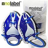 No Label Handpaddel für Schwimmen - Pro-Series Power Schwimmtraining Paddel | Schwimmen Trainingshilfe | Schwimmhilfe