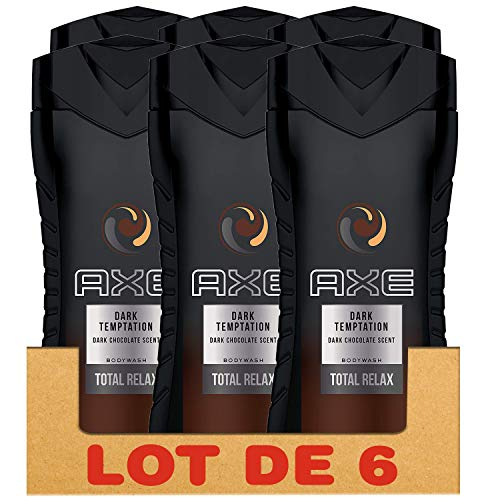 Axe Gel Douche Homme Dark Temptation 250 ml - Pack de 6