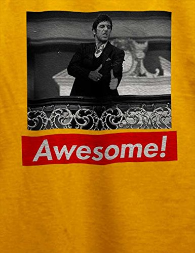 Awesome 61 T-Shirt Gelb
