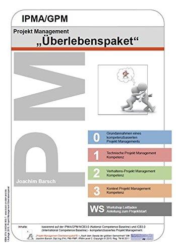 Projekt Management IPMA/GPM Überlebenspaket: Lernkarten