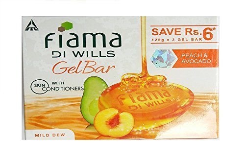 Fiama Di Wills Mild Dew Bathing Bar, 125g (Pack of 3)