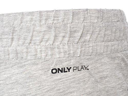 Only play - Sofia lt grey mel short l - Short femme Gris chiné