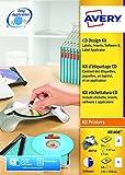 Avery CD Set con applicatore, Software CD e etichette