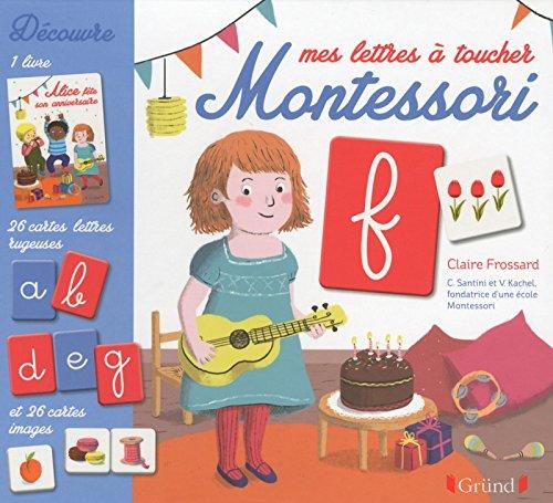 Mes lettres  toucher Montessori