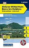 Deutschland Outdoorkarte 31 Unterer Mittelrhein, Bonn bis Koblenz 1 : 35 000: Siebengebirge-Andernach. Wanderwege, Radwanderwege, Nordic Walking (Kümmerly+Frey Outdoorkarten Deutschland) -