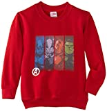 Marvel - Sweat-shirt - Manches courtes Garçon - Rouge - Rouge - L