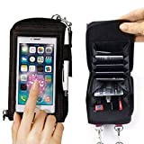 BESTOW® Touch Purse ipod Touch Transparent Case Pouch For All Smartphones