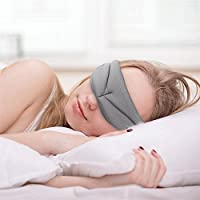 Preisvergleich für Winnes Augenmaske, Natürliche Seidenraupe Schlafmaske Super Weiche Schlaf Augenmaske Licht und Komfortable Einstellbare...