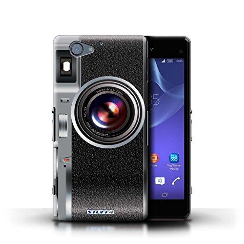 Kobalt® Imprimé Etui / Coque pour Sony Xperia A2 / Millésime conception / Série Appareil Photo Millésime