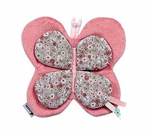 Candide Doudou Papillon Jolie Fleur