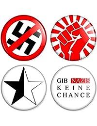 Punk Set 2 Button, Badge, Anstecker, Anstecknadel, Ansteckpin