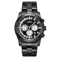 JBW Luxury Men's Delano 22 Diamonds Chronograph Metal Watch - JB-6218-H